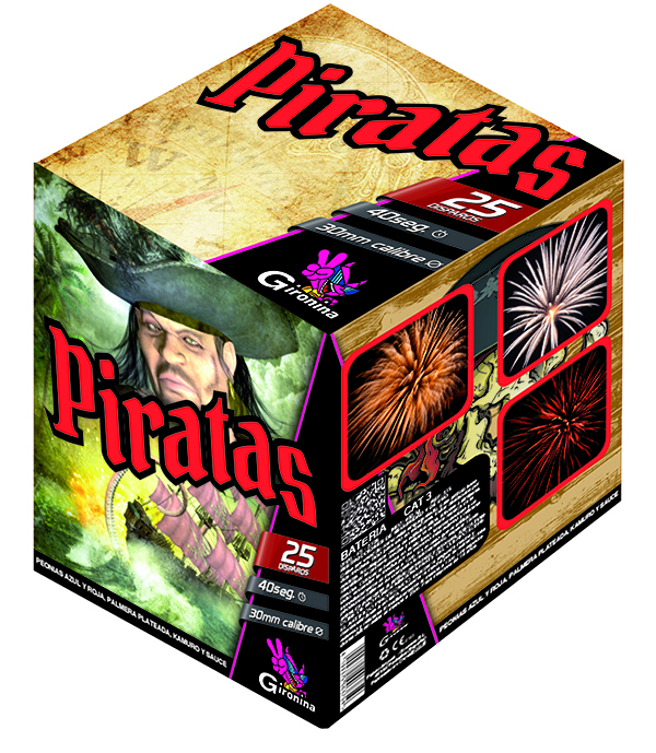 BAT. PIRATAS 25 PALM